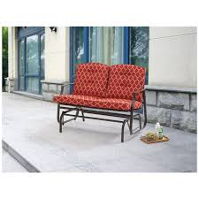 outdoor loveseat glider cushions replacement furniture 24157