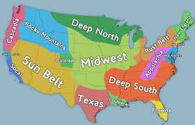 Colorado Usa Map by The Midwest Region Map Map Of Midwestern United States Us Regions