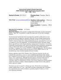 Federal Job Resume Samples by Examples Of Resumes Resume Example Online Tutor Resume Sample