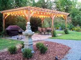 Italian Backyards by Embellish Outdoor With Pergola Lighting Justasksabrina Com
