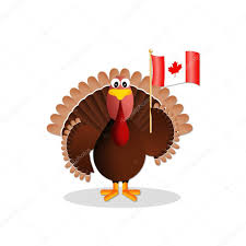 canadian thanksgiving pictures turkey with canadian flag u2014 stock photo sognolucido 54276147