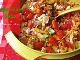 cooking with k granny u0027s recipe mexican salad made with catalina
