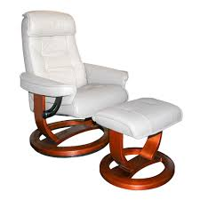 Rocking Chair Online Moran Focus Chair White Leather Clearance 680872 Buy Online
