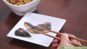 Image titled Eat with Chopsticks Step   preview wikiHow