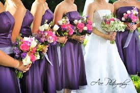 which colors blend well with purple weddingbee