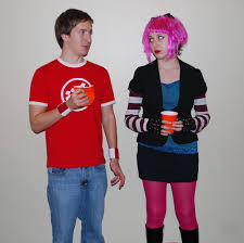 Fat Ramona Flowers - hey reddit i dressed up as ramona flowers for halloween this year