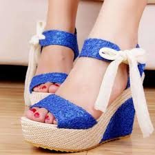 cute lace up ribbon ankle strap wedges sandals daisy dress for less