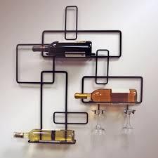Modern Wine Glasses by Need A Modern Wall Mounted Wine Rack We U0027ve Got 10 Wine Gifted