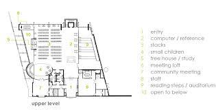 Treehouse Floor Plan Gallery Of Cals Children U0027s Library Polk Stanley Wilcox