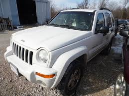 jeep white liberty 2002 liberty white