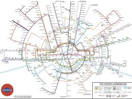 Underground Map Could The World Learn To Love A Round London Underground Map