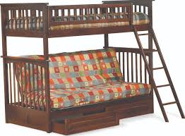 Wooden Futon Bunk Bed Plans by Twin Over Queen Futon Bunk Bed Roselawnlutheran