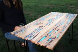 build your own table build your own glow in the dark wooden table daily spikes