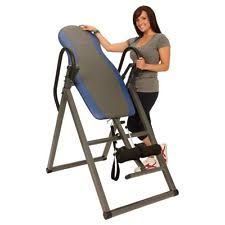 inversion table hang ups home gym back pain relief folding