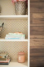 Old Ikea Bookshelves by Update The Look Behind Your Books 9 Easy Ideas Wrapping Papers