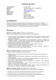 Sample Experience Resume Format Resume Example For It Professional Experience Sidemcicek Com