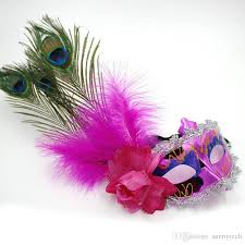 peacock masquerade masks peacock feather plume mask party masquerade masks italian