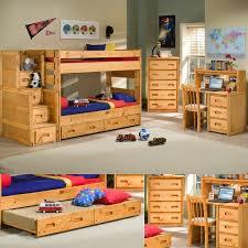 Bookcase Bunk Beds Trendwood Wrangler Twin Bunk Bed Bedroom Collection