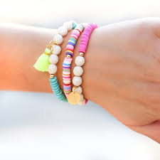 bead bracelet set images Taudrey outside the lines bracelet set fancy boutique jpg