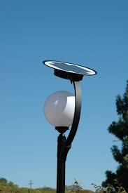 Solar Post Lights Outdoor by Solar Outdoor Lamp Posts Outdoor Pole Lighting Solar Post Light