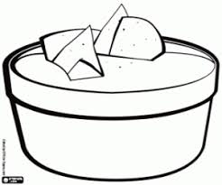 mexican food coloring pages printable games