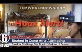 Challenge Hoax College Student Is Not In A Coma After Attempting To Drink 2