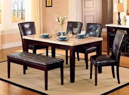 Bedroom Dining Tables With Granite Tops Oak Dining Table With - Kitchen table granite