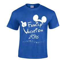 disney family vacation t shirts matching mickey ears thumb 2017