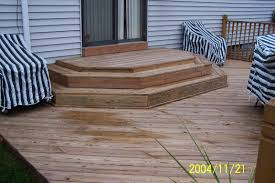 Corner Deck Stairs Design Outdoor Porch Stair Design Stairs Design Design Ideas