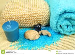 spa soothe in blue color stock image image 12508541