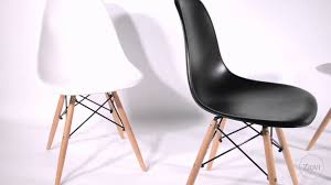 eames dsw style shell chair u0026 dining set from ziovi youtube