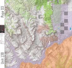 Arizona Road Map Az Unit 13b Digital Map