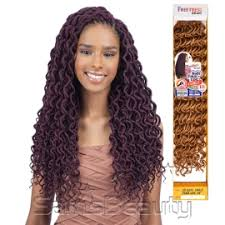 fortress soft dread hair freetress synthetic hair crochet braids 2x soft faux loc curly 18