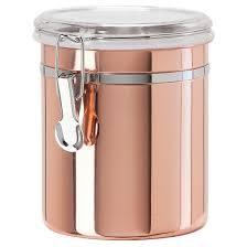 oggi 52oz copper plated canister target