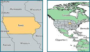 state of iowa map where is iowa state where is iowa located in the iowa