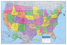 map of us states poster project highways of the united states of america cameron booth