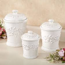 ceramic canisters sets for the kitchen 4pc ceramic canister set canister sets bed bath and beyond vintage