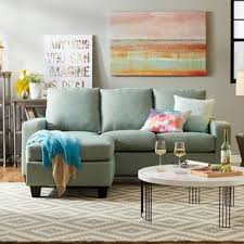 small sectional sofas for small spaces very small sectional sofa wayfair