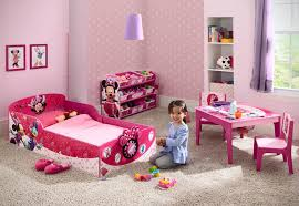 Toddlers Beds For Girls by Disney Interactive Wood Toddler Bed Minnie Delta Children Target