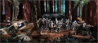happy thanksgiving star wars stephen hayford on his star wars diorama art starwars com