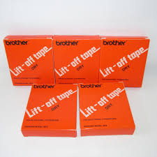 new 29 brother lift off typewriter correction tape dry 3015