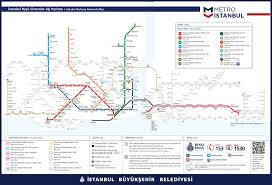Metro Map Madrid by Istanbul Metro Maps 2017 Istanbul Tour Guide
