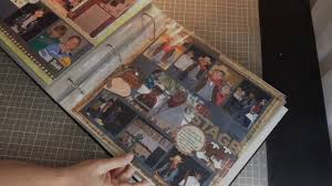 large scrapbook album how to make a large scrapbook album themed and cohesive