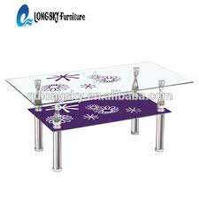 Glass Table Ls Ls 1089 Italia Style Clear Square Glass Coffee Table 8mm Tempered