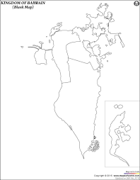 Blank Image Of India Map by Blank Map Of Bahrain Bahrain Outline Map