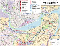Boston Usa Map by Maps Update 21051488 Tourist Map Of Boston U2013 Boston Printable