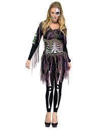 Skeleton Halloween Costumes Adults Sorceress Witch Halloween Womens Costumes Costumes