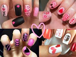 cute nail designs for valentines day image collections nail art