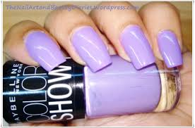 maybelline colorshow u0027lavender lies u0027 nail polish review the nail