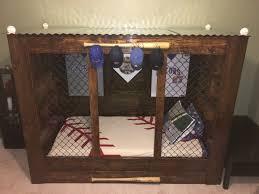 Baseball Bunk Beds Baseball Beds White Bed